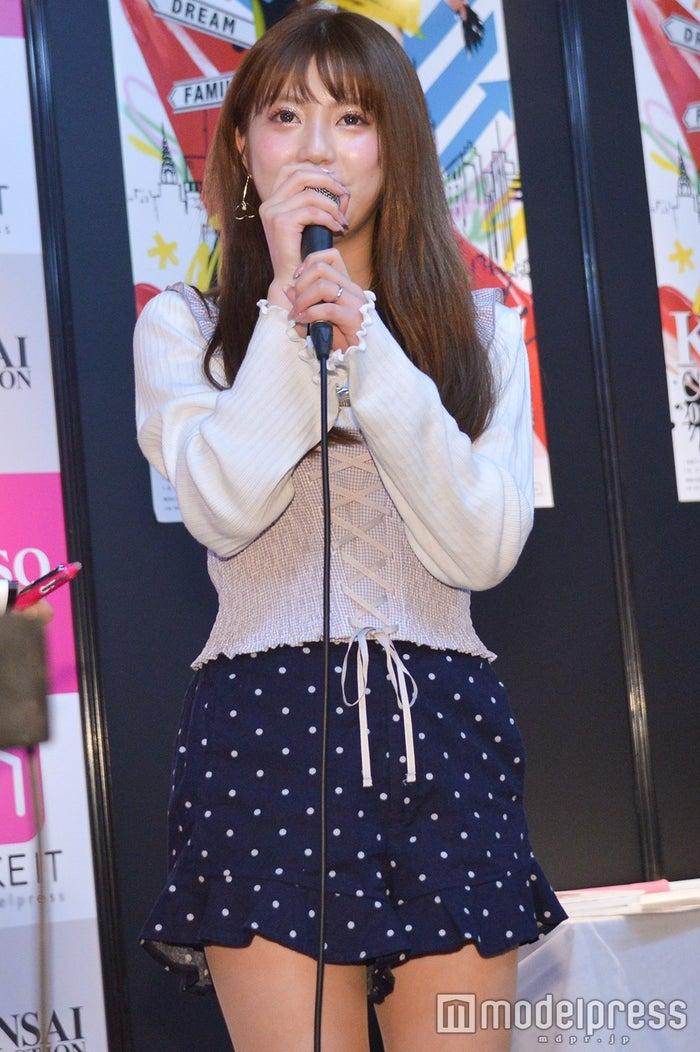 中野恵那 /トークショーの模様(C)モデルプレス