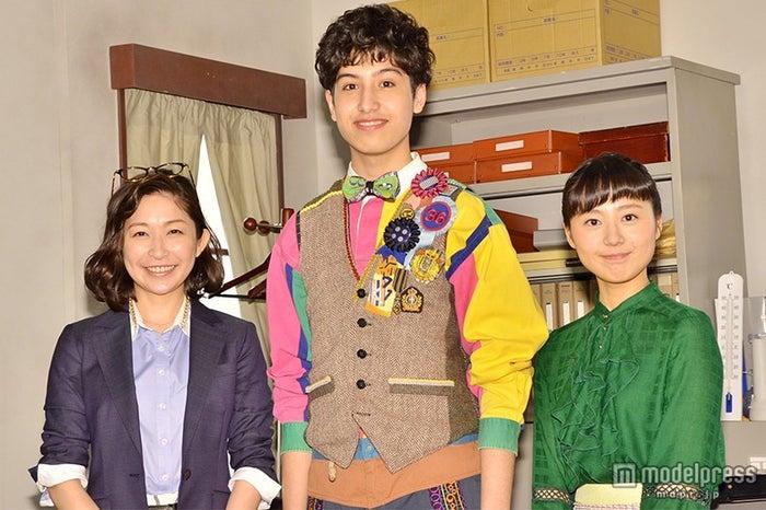 (左から)小野真弓、けみお、石丸佐知
