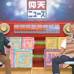 中居正広、笑福亭鶴瓶 (C)日本テレビ