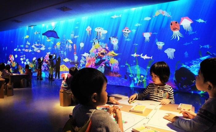 お絵かき水族館 / Sketch Aquarium/画像提供:チームラボ