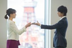 トリンドル玲奈、桜田通/「パーフェクトクライム」第1話より(C)ABCテレビ