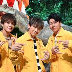 三代目J SOUL BROTHERS from EXILE TRIBE(岩田剛典・NAOTO・山下健二郎)(C)TBS