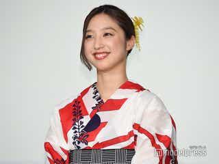 E-girls坂東希、紅一点で特別扱い?しっとり浴衣姿で登場<3人の信長>