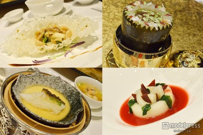 「Jade Dragon」の見た目も綺麗な広東料理