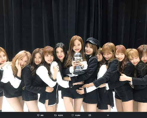 宮脇咲良らIZ*ONE、韓国で1位に ガールグループの歴代記録塗り替える