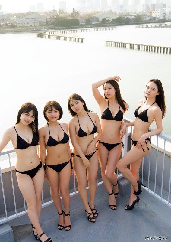 「ミスマガジン2018」(C)Takeo Dec. /ヤングマガジン