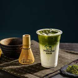 出雲抹茶ミルク ¥650/画像提供:MILKSHOP JAPAN株式会社