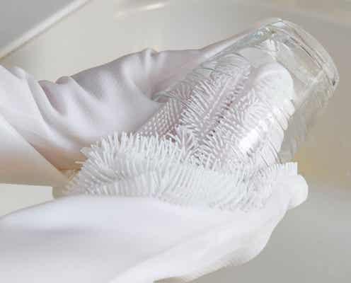 届かなかった場所の汚れも洗えた…!3COINSの「洗い物で役立つアイテム」3選