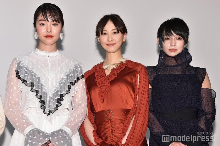 唐田えりか、松井玲奈、日南響子 (C)モデルプレス