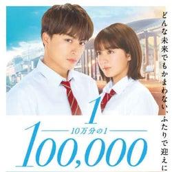 『10万分の1』主題歌はGENERATIONS!キス寸前の本予告も公開