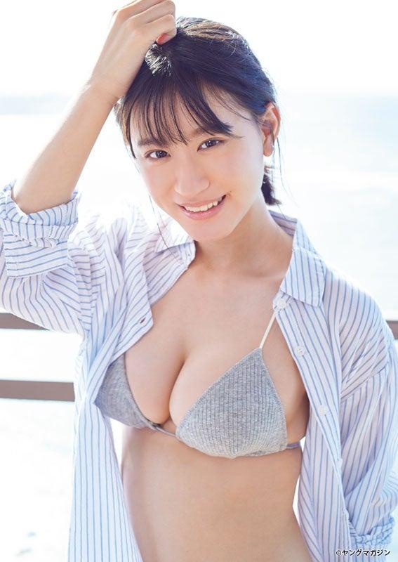 """NMB48上西怜、""""グラビア界震撼""""の美ボディに釘付け YouTube動画>5本 ->画像>63枚"""