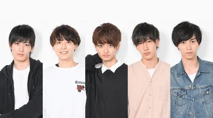 (左から)高橋奎仁、富園力也、石橋弘毅、福井巴也、田淵累生 (C)日本テレビ