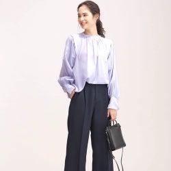 カラーアイテムでオフィスコーデの春を先取り♪2021最新ファッションカタログ