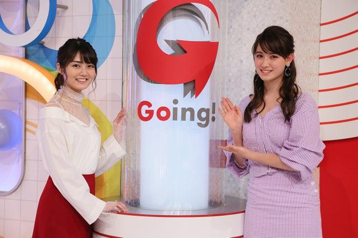水谷果穂、トラウデン直美(C)日本テレビ