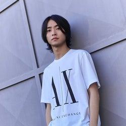 山崎賢人「A|X アルマーニ エクスチェンジ」キャンペーンモデル起用 日本人俳優初の抜てき
