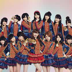 AKB48「ハート・エレキ」新ビジュアル