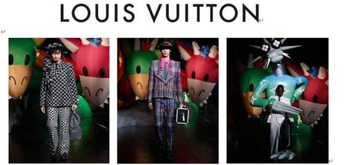 「ルイ・ヴィトン」2021春夏メンズ・ファッションショー(提供写真)