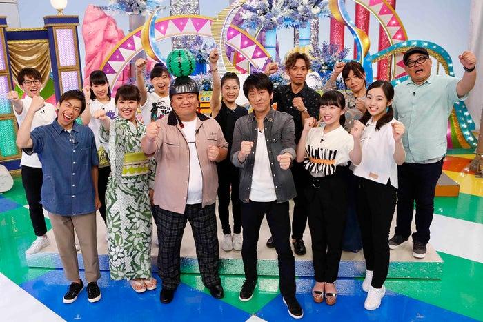 4日放送の「THE ICE☆ブラマヨのフィギュアオールスター夏祭り」より(C)関西テレビ