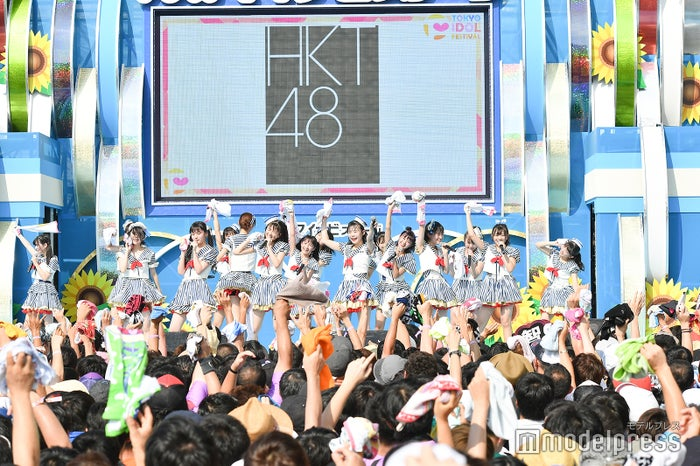 HKT48「TOKYO IDOL FESTIVAL 2018」 (C)モデルプレス
