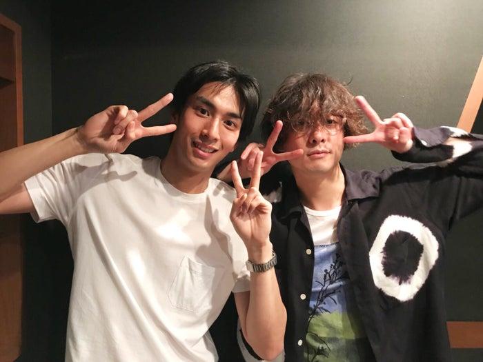 「渡部秀 アクターズ・レイディオ」に市川知宏(左)がゲスト出演(提供写真)