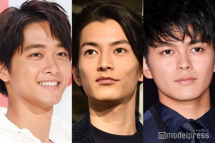 (左から)佐藤寛太、渡邊圭祐、眞栄田郷敦 (C)モデルプレス