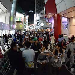渋谷の街の様子
