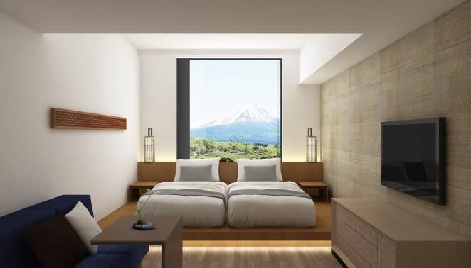 「ホテル クラッド」客室/画像提供:小田急電鉄株式会社