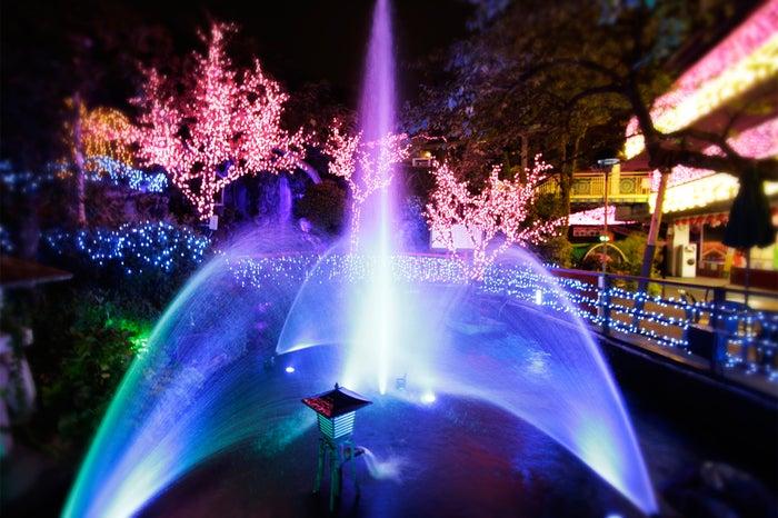噴水ショー/画像提供:花やしき