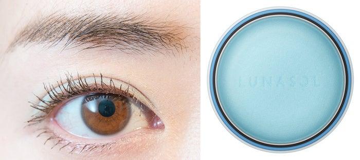 ルナソル マカロンニュアンスアイズ EX06Choco Mint(C)モデルプレス ※発色イメージ