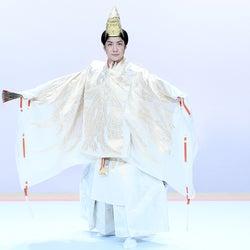 野村萬斎、娘・野村彩也子アナ地上波デビューに華を添える 「お笑いの日2020」で狂言披露