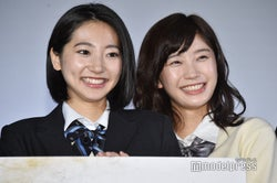 武田玲奈&小倉優香、壇上で人狼ゲーム 結果は?