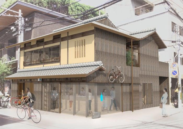 ブルーボトルコーヒー 京都六角カフェ/画像提供:Blue Bottle Coffee Japan