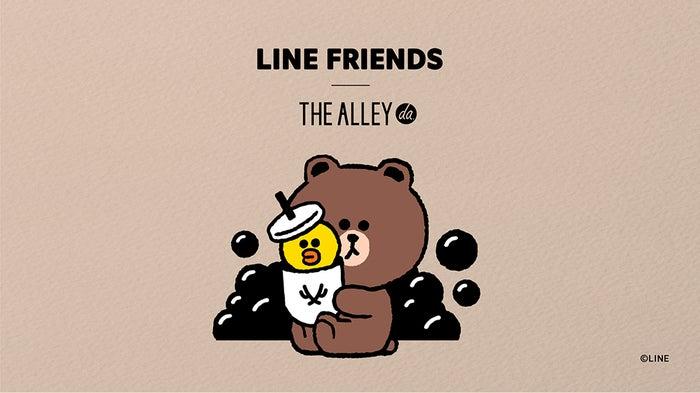ジ アレイ×LINE FRIENDSコラボ/画像提供:ポトマック