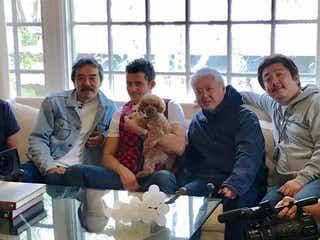 """オーランド・ブルームの""""わんこ""""日本メディア初取材 パリス・ヒルトンの大豪邸にも潜入"""