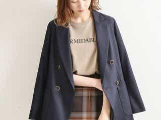 ジャケットの肩掛けはダサい…?おしゃれ女子のコーデから学ぶ《今っぽく羽織るコツ》