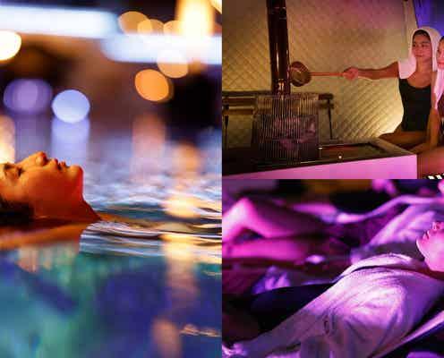 ホテルニューオータニでアートサウナイベント、お洒落なホテルプールが水風呂に
