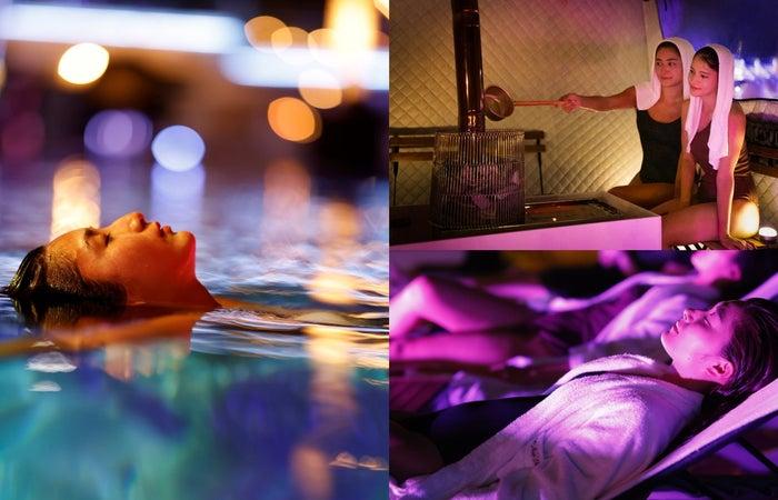 NAKED NIGHT SAUNA×HOTEL NEW OTANI -CITY RETREAT-/画像提供:ニュー・オータニ