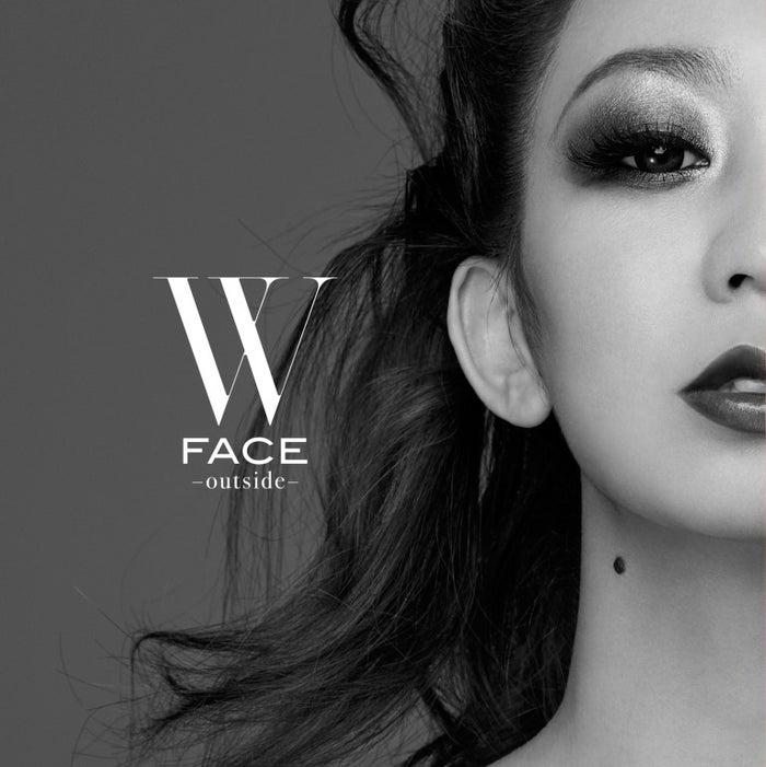 倖田來未のニューアルバム「W FACE~outside~」(3月8日発売)(提供写真)