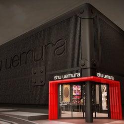 シュウ ウエムラのブランド史上初のグローバル旗艦店が東京・表参道にオープン。