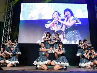 AKB48、新天地でフレッシュパフォーマンス 海外進出に意欲