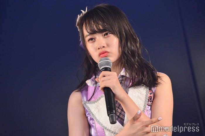 横山結衣/AKB48チーム8「その雫は、未来へと繋がる虹になる。」公演 (C)モデルプレス