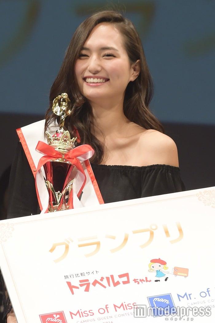 """""""日本一のミスキャンパス""""発表の瞬間とは?山賀琴子さん、卒業後の進路を語る<Miss of Miss 2016>(C)モデルプレス"""