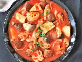 【秋のダイエットレシピ】食物繊維たっぷり!根菜とキノコのラタトゥイユ