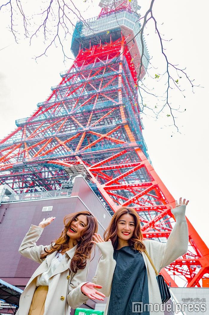 (左から)畑有里紗さん、中瀬古ゆきなさん (C)モデルプレス