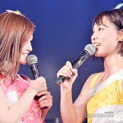 込山榛香、山田菜々美/ AKB48込山チームK「RESET」公演(C)モデルプレス