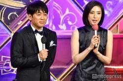 安住紳一郎アナ、天海祐希 (C)モデルプレス
