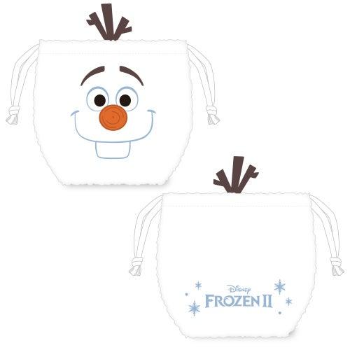 フェイス巾着 1,200円(C)Disney