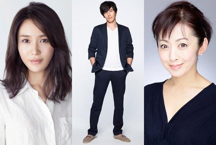 (左から)山口紗弥加、要潤、斉藤由貴(画像提供:TBS)