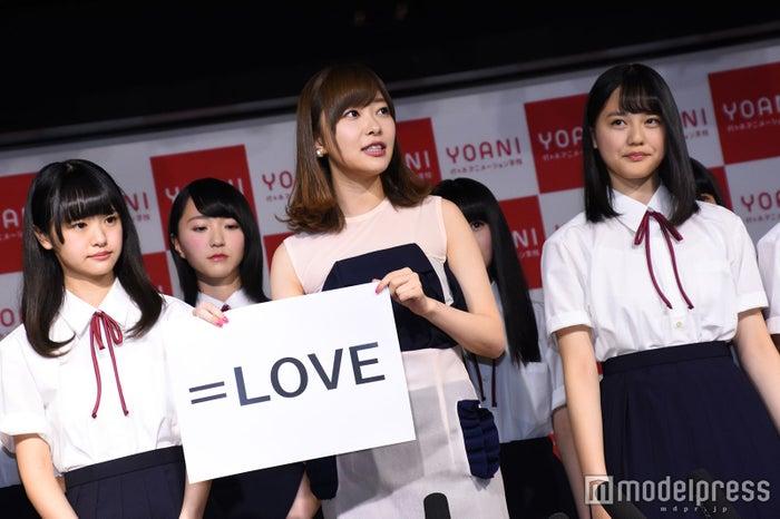 グループ名は「=LOVE」(C)モデルプレス