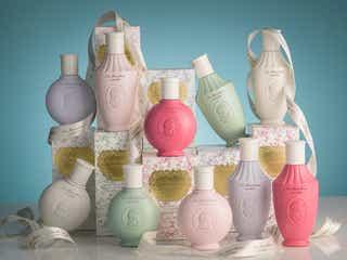 【レ・メルヴェイユーズ ラデュレ】5つの香りで優雅なバスタイムへ。ロマンチックなボディコレクションが登場